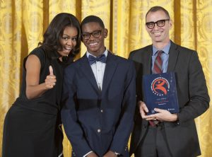 Deep Center honored at the White House