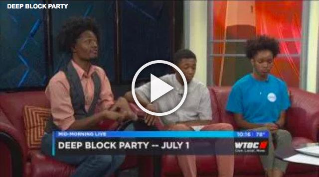 WTOC-TV Interviews Youth Leadership Team Members | Deep Center